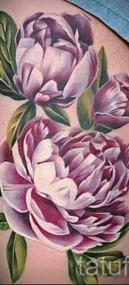 value peony tattoos for girls 1
