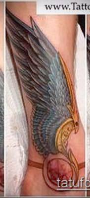 Фото тату крылья Гермеса – 06072017 – пример – 032 Tattoo wings of Hermes