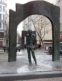 Памятник подешевле Арбатская (Арбатско-Покровская линия) Ваза. Покостовский гранит Нижний Ломов