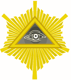 Eye of Providence with Rays.svg