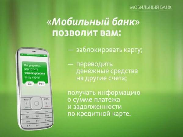 Как включить мобильный банк после блакировки друза